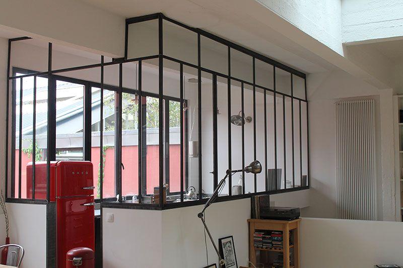 Quelques mod les de verriere fenetres d 39 atelier d 39 artiste aubagne ma - Fenetre metal style atelier ...