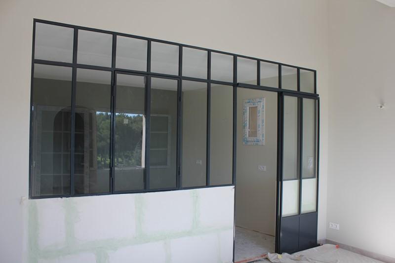 s paration avec cloison style fen tre atelier golf d 39 allauch pr s de marseille 39 aubagne. Black Bedroom Furniture Sets. Home Design Ideas